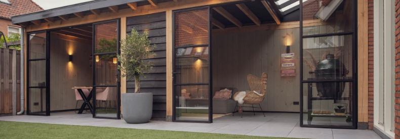 Waarom je deze zomer optimaal kan genieten van een luxe tuinhuis